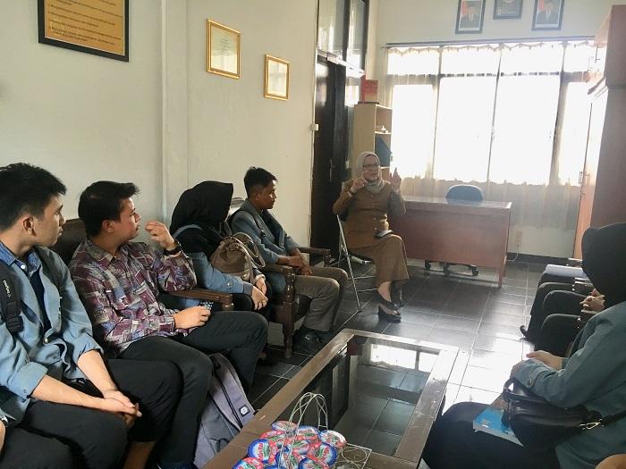 Pengarahan dari Kepala Sekolah kepada PPL UPI Bandung