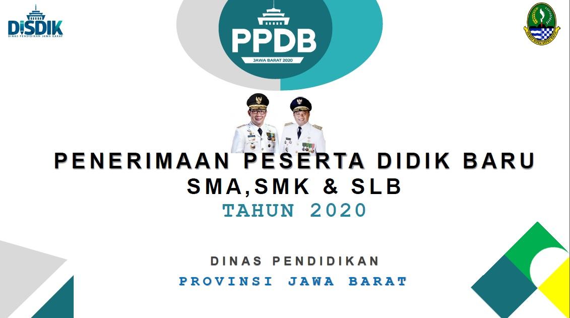 PPDB SMA Tahun Pelajaran 2020-2021