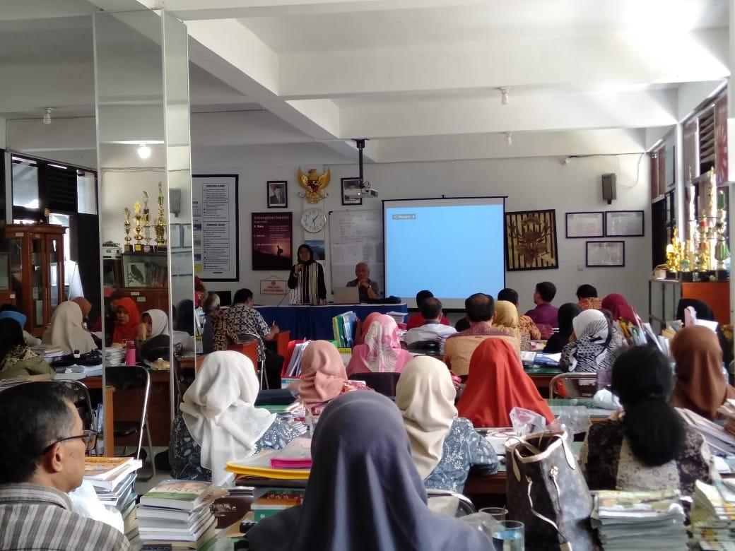 Evaluasi KBM Tengah Semester Ganjil Tahun Pelajaran 2019-2020