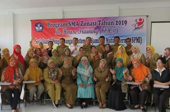 Sosialisasi/Pengembangan Sistem Penjaminan Mutu Internal (SPMI)